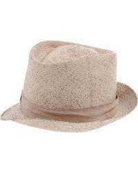 Borsalino Hat - Lyst