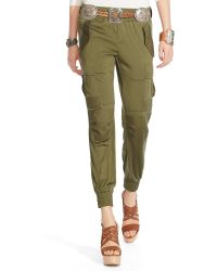 Polo Ralph Lauren Silk Military Cargo Pant - Lyst