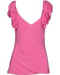 Ralph Lauren Pink Top - Lyst