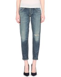 Citizens Of Humanity Emerson Slim-Fit Boyfriend Mid-Rise Jeans - Lyst