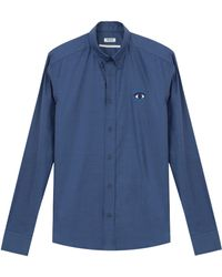 Kenzo Shirt with Eye Chest Embroidery - Lyst