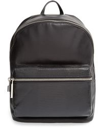 Elizabeth And James 'Cynnie' Lizard Embossed Leather Backpack - Lyst