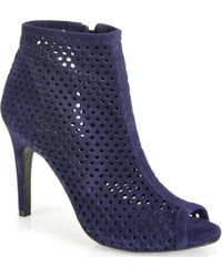 Pedro Garcia Sylvana - Punch-Out Bootie - Lyst