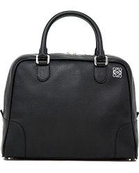 Loewe - Amazona 75 Large Bag, Women's, Black - Lyst