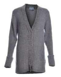 Antipodium - The Bookman Long Cardigan In Dark Grey - Last One By - Lyst