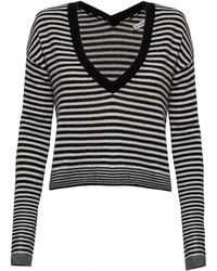 Alice + Olivia Mini Stripe Sweater - Lyst