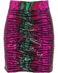 House Of Holland Embellished Skirt Snake - Lyst