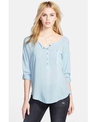 Splendid Voile Shirt - Lyst