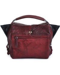 Marylai Mies Leather Shoulder Bag - Bordeaux Red - Lyst