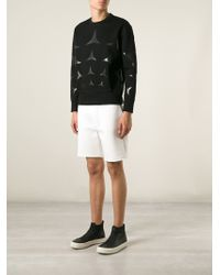 Neil Barrett Star Print Sweater - Lyst