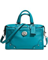 Coach Rhyder 24 Small Satchel - Lyst