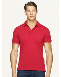 Ralph Lauren Black Label Stretch Mesh Polo - Lyst
