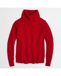 J.Crew Factory Warmspun Turtleneck Sweater - Lyst