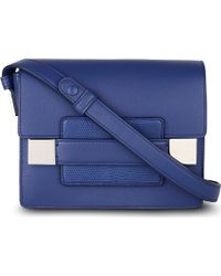Delvaux - Del Madame Mini Leather Shoulder Bag - Lyst