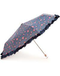 Forever 21 - Rose Dot Ruffled Travel Umbrella - Lyst