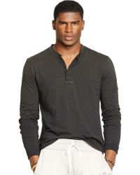 Polo Ralph Lauren Textured Henley Shirt - Lyst