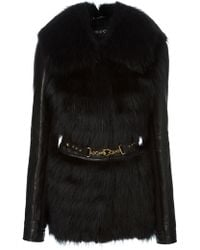Gucci Belted Jacket - Lyst