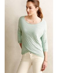 Moth Crossed Pointelle Pullover - Lyst