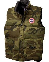 Canada Goose vest sale official - Canada goose Freestyle Down Vest in Blue for Men (Navy) | Lyst
