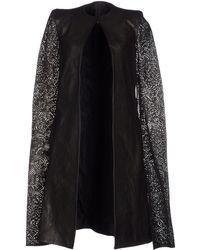 Gareth Pugh Coat black - Lyst