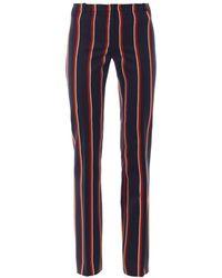 Altuzarra Redwood Wool-Blend Trousers blue - Lyst