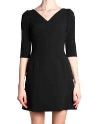Dolce & Gabbana | Black Dress | Lyst