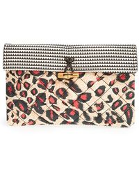 Maison Scotch - Quilted Clutch - Lyst