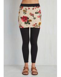 Leggsington - Skirt Around The Subject Leggings - Lyst