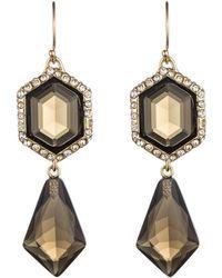 Alexis Bittar Hexagon Drop Earring - Lyst