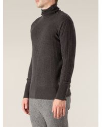 Side Slope - Turtle Neck Sweater - Lyst