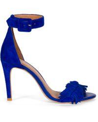Joie Pippi Heels blue - Lyst