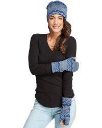 Threads For Thought - Zig Zag Fingerless Gloves - Lyst