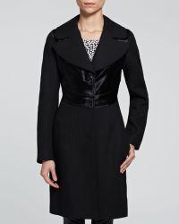 Diane von Furstenberg Coat - Calf Hair Panel - Lyst