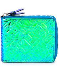 KENZO - Textured Wallet - Lyst
