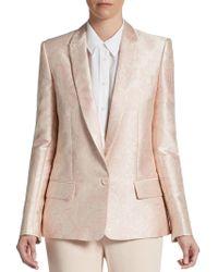 Stella McCartney Paisley Jacquard Jacket - Lyst