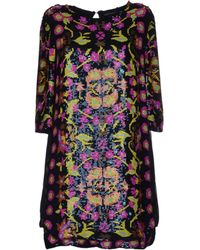 Antik Batik Multicolor Short Dress - Lyst