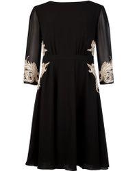 Ted Baker Gaenor Embellished Detail Dress - Lyst