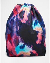 Monki | Mimmi Nylon Drawstring Duffel Bag | Lyst