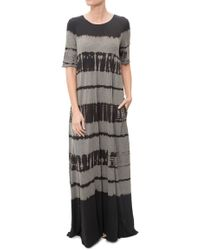 Raquel Allegra | Short Sleeve Maxi Dress | Lyst