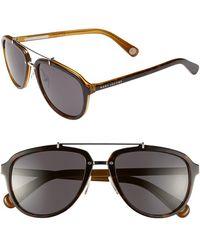 Marc Jacobs Women'S 56Mm Aviator Sunglasses - Havana Honey - Lyst