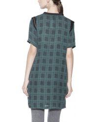 Rachel Comey Plaid Silk Dress - Lyst
