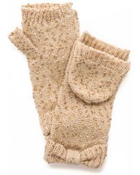 Kate Spade - Cosmic Sequined Mittens - Black - Lyst
