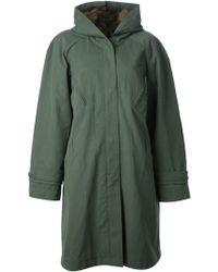 Liska Fur Lining Hooded Coat - Lyst