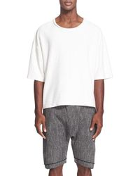 Chapter - Oversize Slub Cotton T-shirt - Lyst