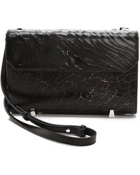 Alexander Wang - Chastity Cracked Clutch - Lyst