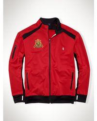 Polo Ralph Lauren Stretch Full-zip Track Jacket - Lyst