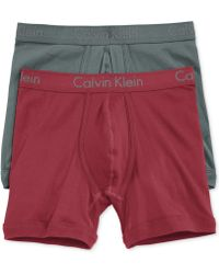 Calvin Klein Body Boxer Briefs 2 Pack - Lyst