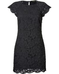 Juicy Couture Corded Lace Dress - Lyst
