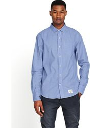 Superdry Laundered Cut Collar Shirt - Lyst
