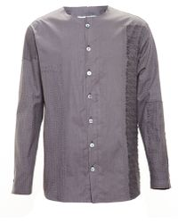 By Walid Lace Embroidered Shirt - Lyst